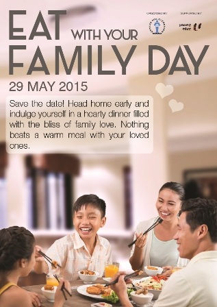 Eat With Your Family Day 2015 - Register Participation
