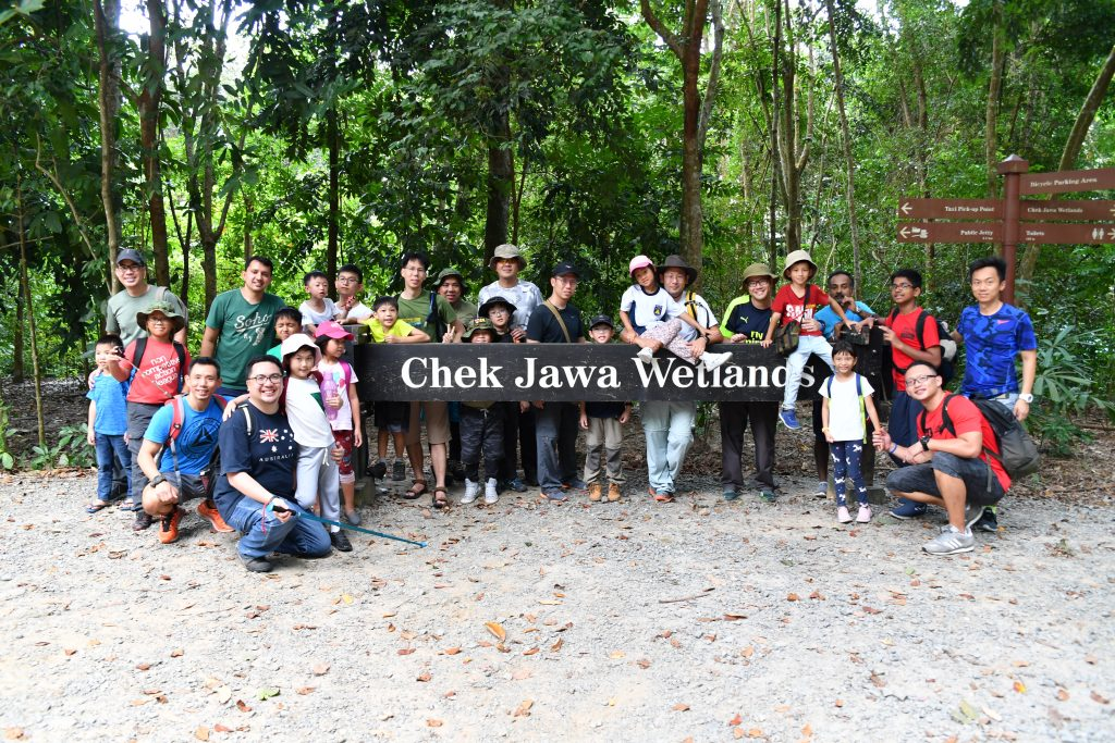 Group photo at Chek Jawa